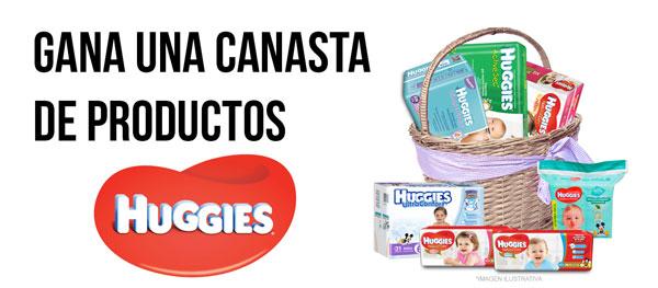 canasta de productos Huggies