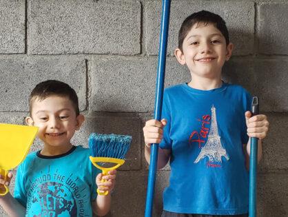 Tareas que pueden hacer los niños en casa